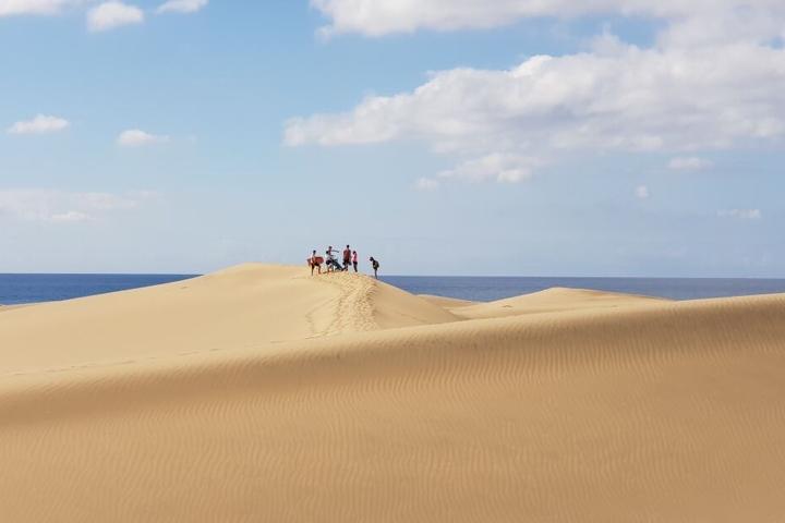 Ein Ausflug in die Dünen von Maspalomas darf natürlich nicht fehlen!