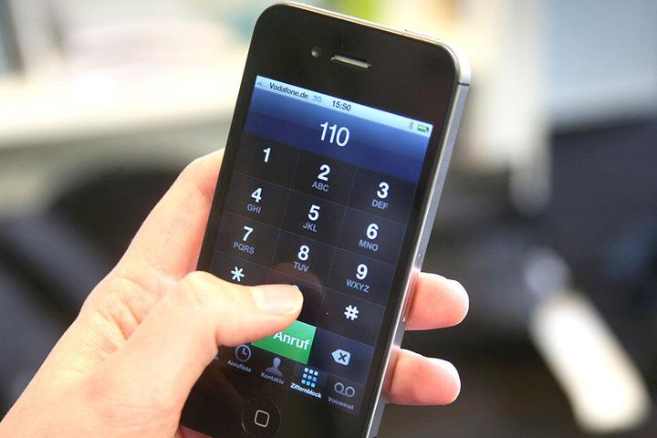 Der Polizeinotruf 110 - das deutsche Pendant zur 911 in den Vereinigten Staaten.