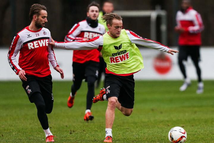 Bard Finne (24) trug das Trikot des 1. FC Köln 22-Mal.
