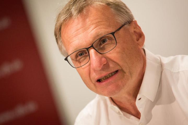 Er ist der Sportchef der Schwaben: Michael Reschke.