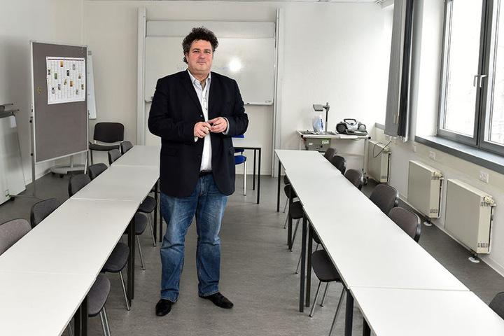 Jürgen Küfner (51), Direktor der Dresdner Volkshochschule.