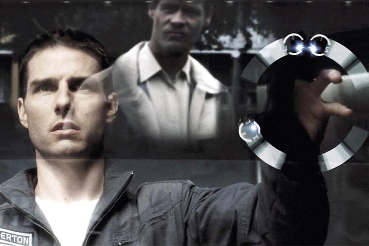 """Die Vorhersage von Straftaten inspirierte schon Hollywood - etwa im Streifen """"Minority Report"""" mit Tom Cruise."""