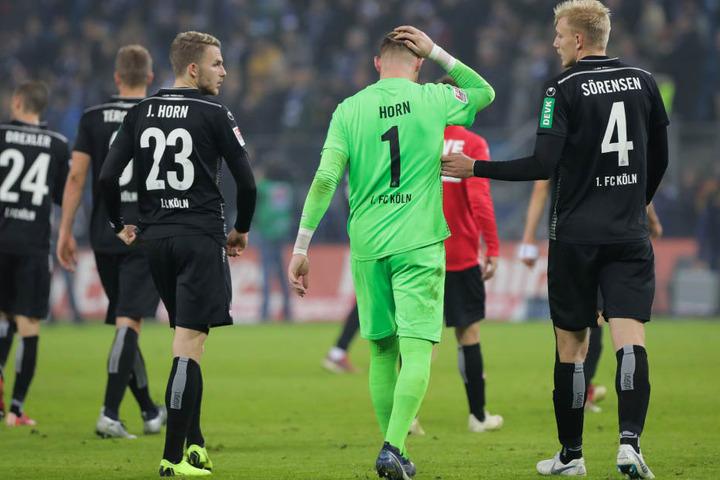 Bei der 0:1-Niederlage beim Hamburger SV am 5. November durfte Frederik Sörensen (r.) in der Endphase als Mittelstürmer ran.