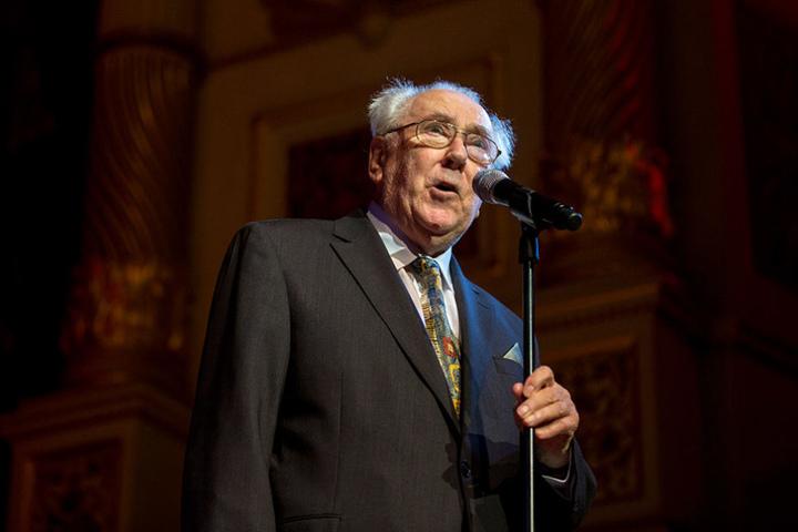 Moderierte im vergangenen Jahr zum letzten Mal: Dixie-Urgestein Karlheinz  Drechsel (86).