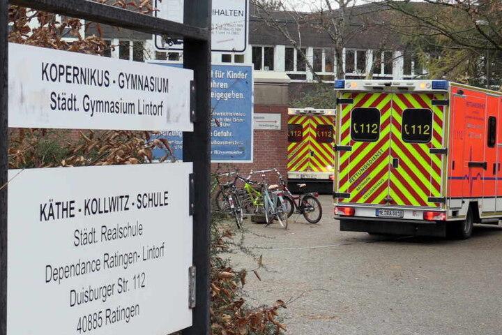 Acht Kinder wurden verletzt.