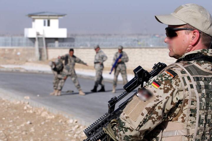 Auch in gefährlichen Einsatzgebieten wie Afghanistan oder Mali waren die Thüringer Soldaten 2017 im Einsatz. (Symbolbild)