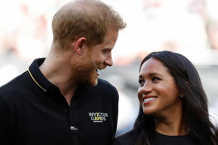 Unzertrennliches Paar: Prinz Harry und Herzogin Meghan.