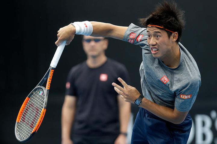 """Wurde als der """"japanische Boris Becker"""" vorgestellt: Kei Nishikori (27)."""