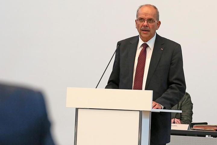 CDU-Fraktionsvize Michael Luther scheiterte mit seinem Versuch, einen Gegenantrag zum Bürgerhaushalt durchzubringen.
