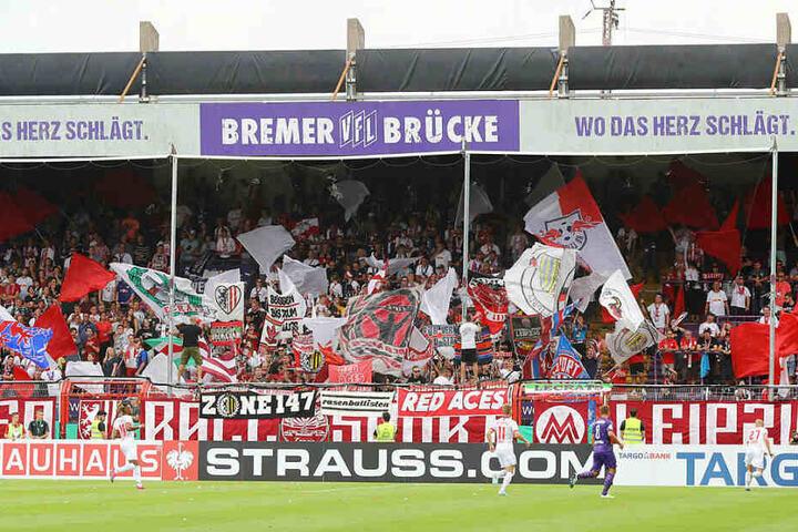 1100 Fans begleiteten RB nach Osnabrück.