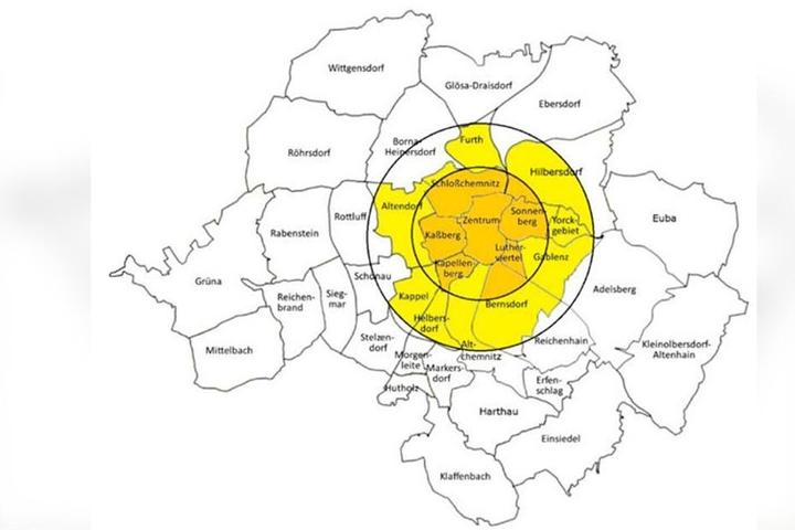 So sehen Sieger aus: In diesen acht Stadtteile im Zentrum wollen immer mehr leben.
