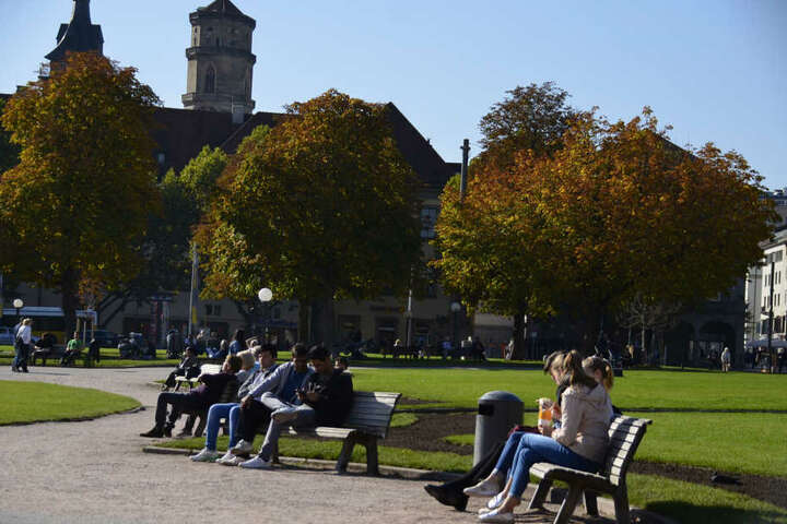 Auch im Herbst zeigt sich Stuttgart von seiner schönen Seite.