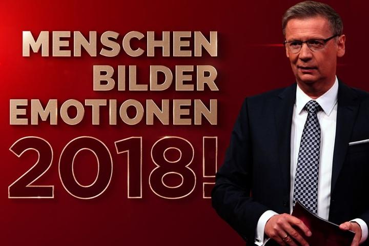 """Günther Jauch (62) moderierte den Jahresrückblick """"Menschen, Bilder, Emotionen 2018"""" bei RTL."""
