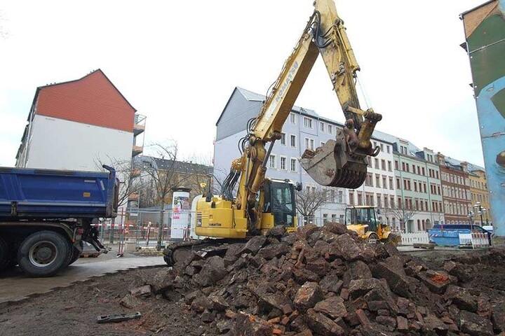 Für 3,9 Millionen Euro baut die GGG Am Brühl 65 ein neues Haus mit 18 Wohnungen.