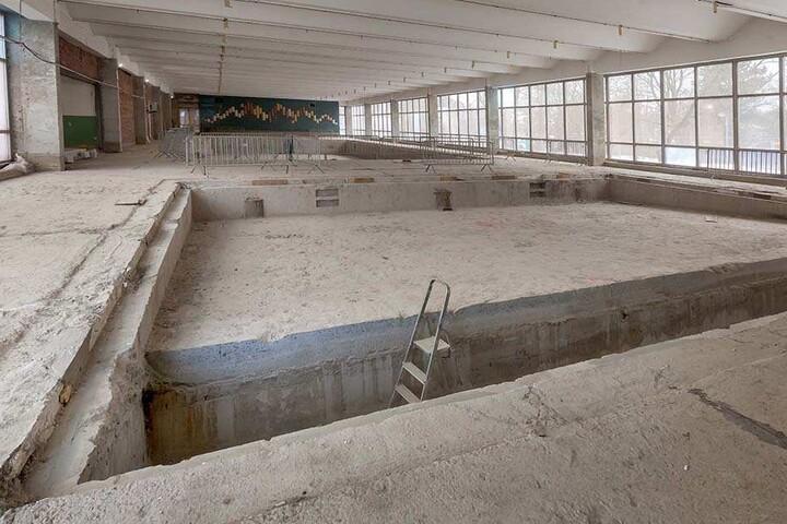 Das Gablenzer Schwimmbad ist wegen Sanierung noch bis zum Herbst  geschlossen.