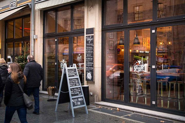 """Das ehemalige """"aroma"""" an der Kreuzstraße wurde zum """"Grillkollektiv""""."""