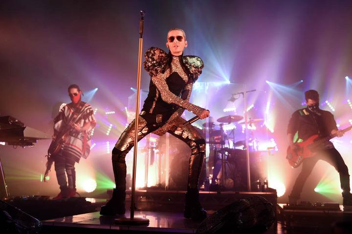 Ihr einziges Konzert im Osten geben Tokio Hotel in Leipzig.
