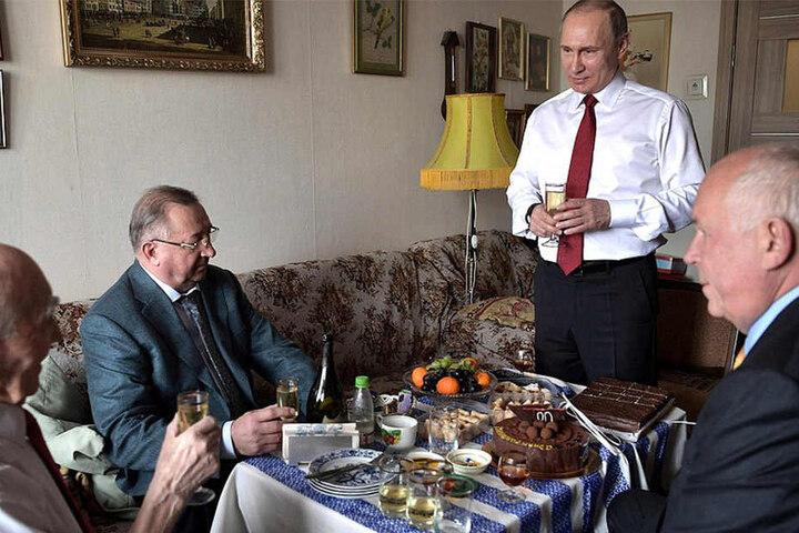 Das Treffen der ehemaligen Geheimdienstler fand in Moskau statt.
