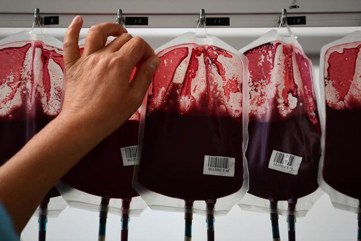In Nordrhein-Westfalen sinkt die Bereitschaft zur Blutspende.