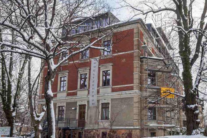 In dem Gebäude war früher die Stasi untergebracht. Jetzt wurde es  saniert.