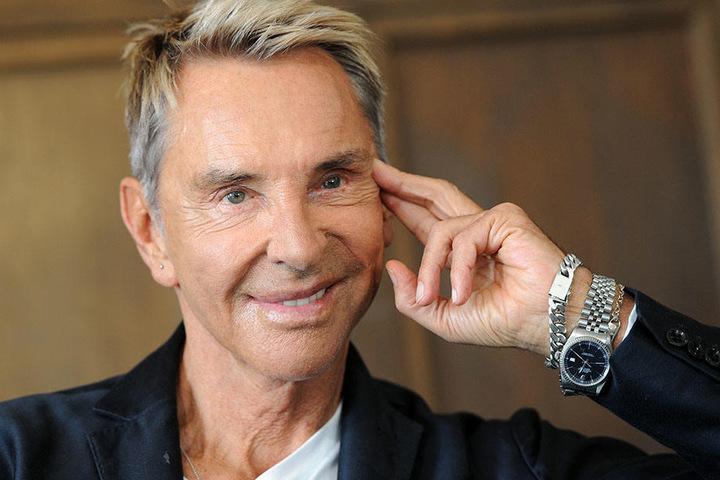 Elegant und modebewusst: Wolfgang Joop (72).