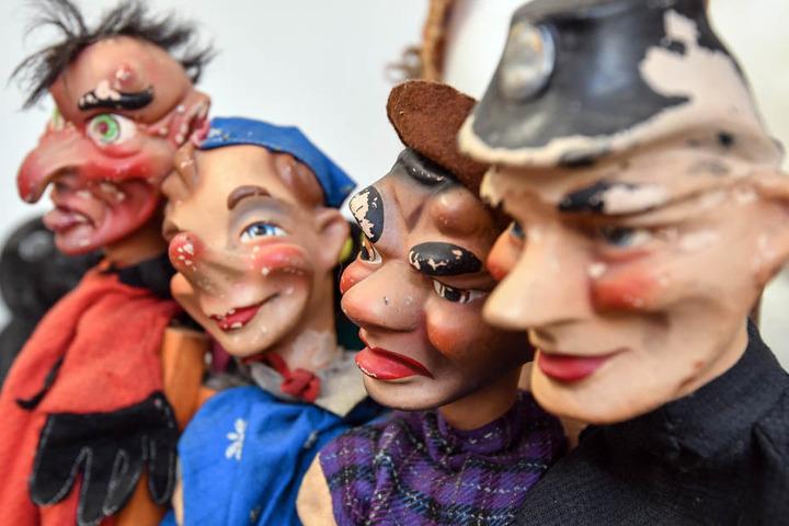 Welche Figuren Puppenspielerin Marcella von Jahn in Altenburg zum Einsatz bringt, bleibt noch ein Geheimnis. (Symbolbild)