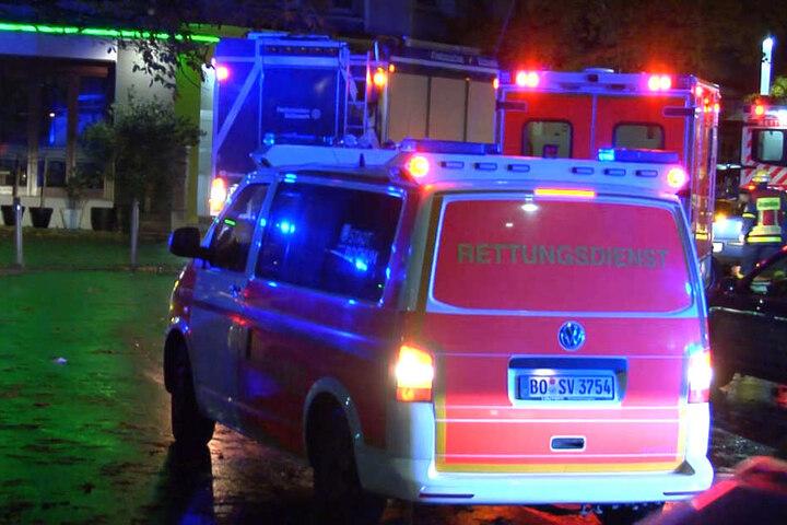 Sechs Menschen wurden verletzt.