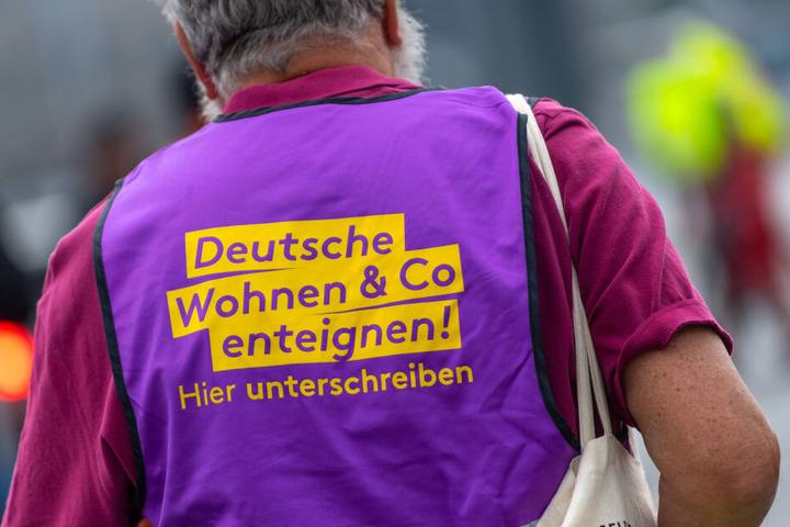 Seit Monaten wird in Berlin für die Enteignung von Konzernen wie Deutsche Wohnen protestiert (Symbolbild).