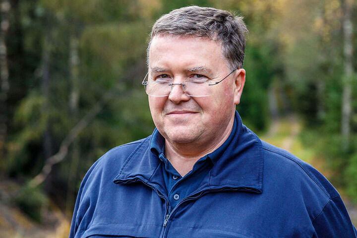 Chef-Sprengmeister Holger Klemig (55) ist zufrieden mit dem Ergebnis.