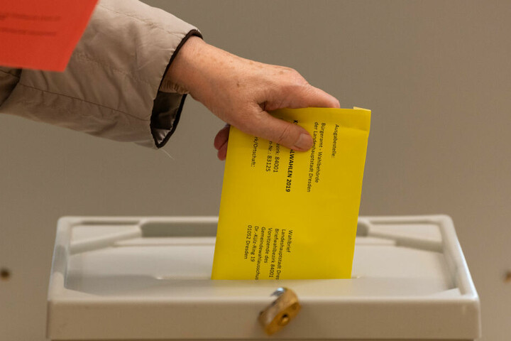 Am 1. September finden in Sachsen Landtagswahlen statt. (Archivbild)
