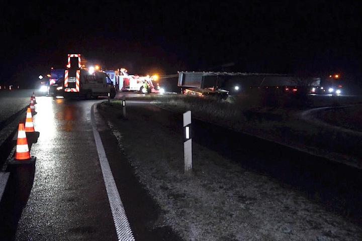 Von der Sperrung der Autobahnzufahrt ist am Morgen vor allem der Berufsverkehr betroffen.