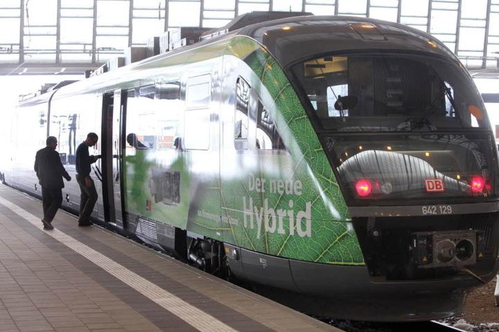 Mit den Hybridbahnen will die DB-Regio umweltfreundlicher werden.