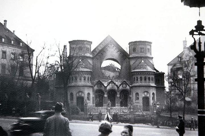 Die ehemalige Synagoge am Stephansplatz war eine der ersten, die von Nationalsozialisten zerstört wurde.