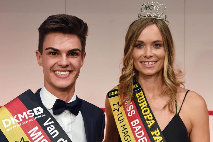 Mister und Miss Baden-Württemberg: Alexander Speiser (20) und Nadine Berneis (28).
