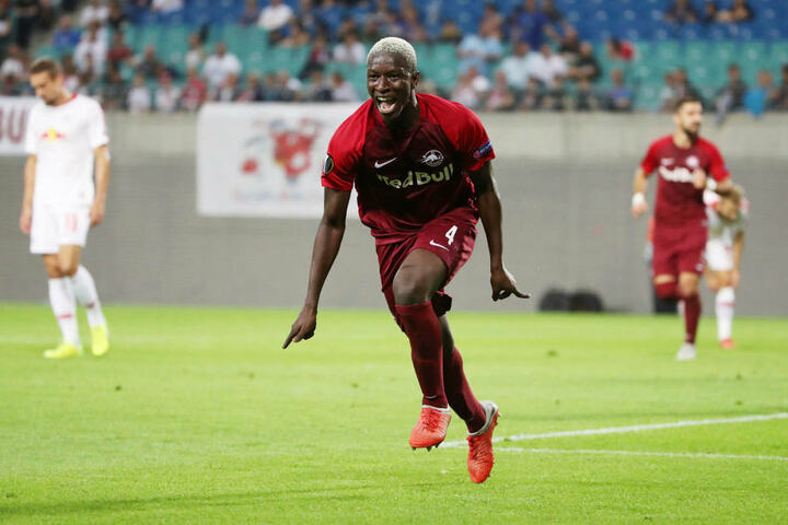 Bei Leipzigs 2:3-Niederlage in der Europa League gegen Salzburg erzielte Haidara das zwischenzeitliche 0:2.