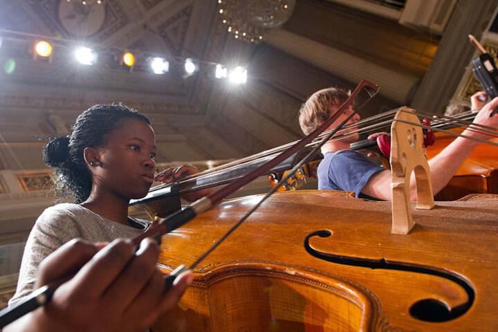 Bis zum 03. September können die Jugendsymphonieorchester im Konzerthaus am Gendarmenmarkt bestaunt werden. (Symbolbild)