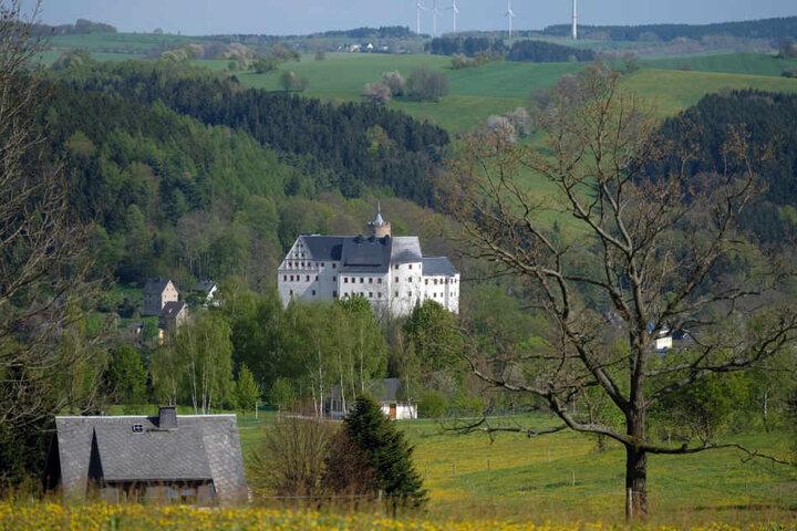 Burg Scharfenstein.