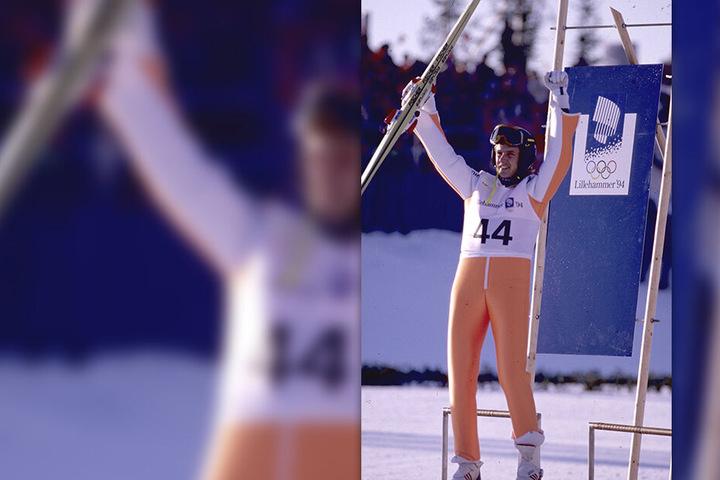 Zehn Jahre später folgte Jens Weißflogs wohl größer Erfolg: Gold in Lillehammer von der Großschanze und im Team.