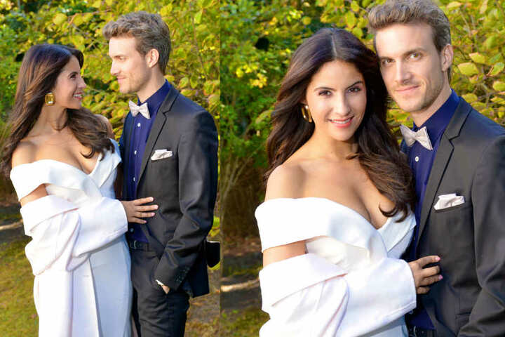 Überglücklich strahlen Laura und Felix auf ihren Hochzeitsfotos. Aber wieso nur trägt die Braut keinen Ring?