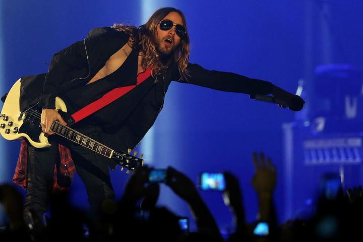 """Eine Ikone seiner Generation: Jared Leto von den Alternative-Rockern """"30 Seconds To Mars""""."""