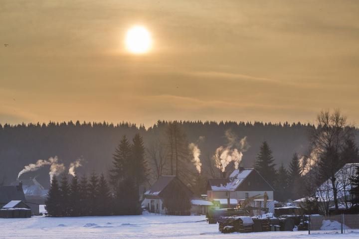 In Künhaide war es am Dienstagmorgen am kältesten mit Minus 22 Grad.