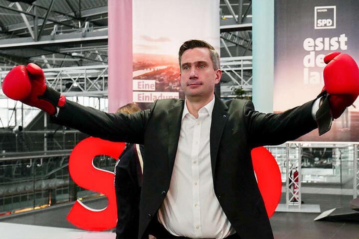 Sachsens SPD zieht mit ihrem Parteichef Martin Dulig als Spitzenkandidat in die Landtagswahl am 1. September.
