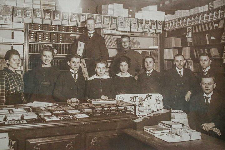 Eine alte Postkarte des Kunstverlages.