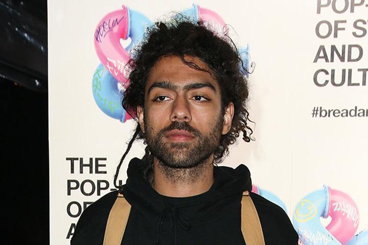 Noah Becker als Gast bei der Modemesse Bread & Butter. B