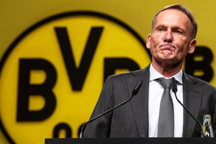 BVB-Geschäftsführer Hans-Joachim Watzke fand klare Worte.