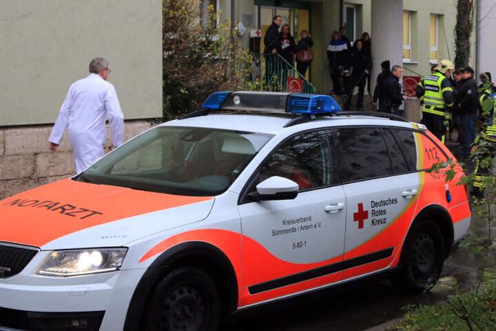 Im Vorfeld gab es eine schriftliche Drohung gegen das Krankenhaus.