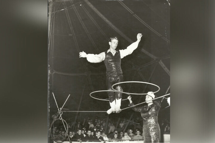 Das Zirkusleben ist ein Drahtseilakt - Müller-Milano beherrschte es bereits als junger Mann perfekt.