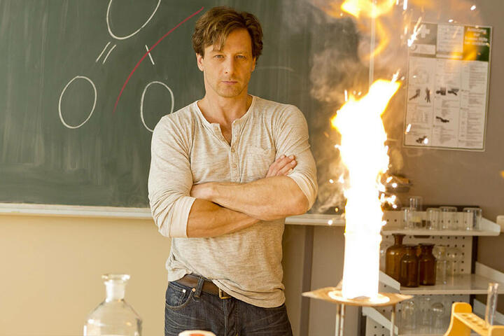 Hendrik Duryn (51) in seiner Rolle als Lehrer Stefan Vollmer.