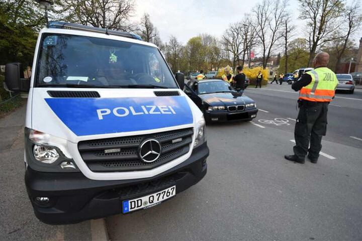 Die Polizeikontrollen erstreckten sich von Bad Muskau bis Zittau.