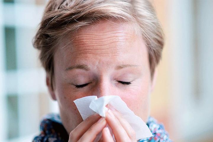 """""""Volksseuche"""" Grippe: Wer in diesem Jahr vom Erreger erwischt wird, hat besonders schwer zu leiden."""